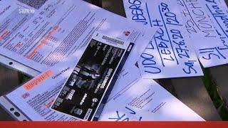 """Gutschein oder Bargeld: Absage wegen Corona - welche Rechte haben Kunden? """"Marktcheck"""" im SWR Fernse"""