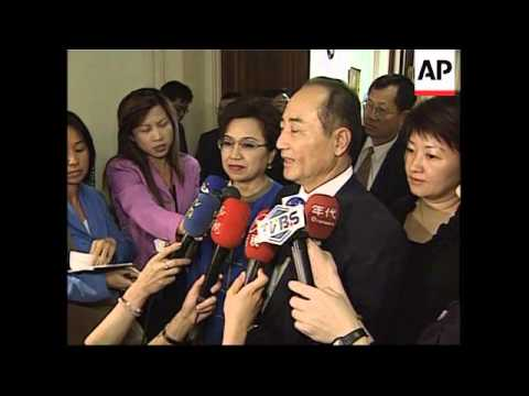 Taiwanese delegation meetings in Washington