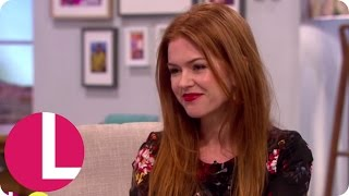 Isla Fisher On Being Married To Sacha Baron Cohen | Lorraine