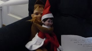 New elf on the shelf dolls! And the bad elf returns...