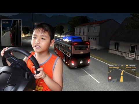 Bé Dương một mình lái xe đi qua ĐÈO HẢI VÂN