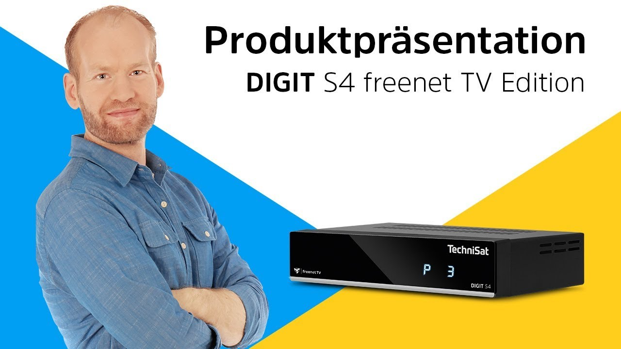 digit s4 freenet tv f r den empfang von freenet tv ber satellit technisat youtube. Black Bedroom Furniture Sets. Home Design Ideas