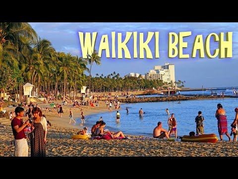 Waikiki Beach - Honolulu 4K