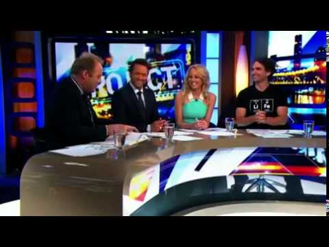 The moment Carrie Bickmore announces she...