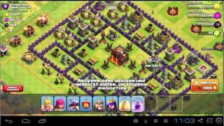 Clash of Clans Angriff 8 DRACHEN