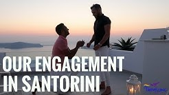 Romantic Surprise Gay Proposal in Santorini | The Travelling Gays