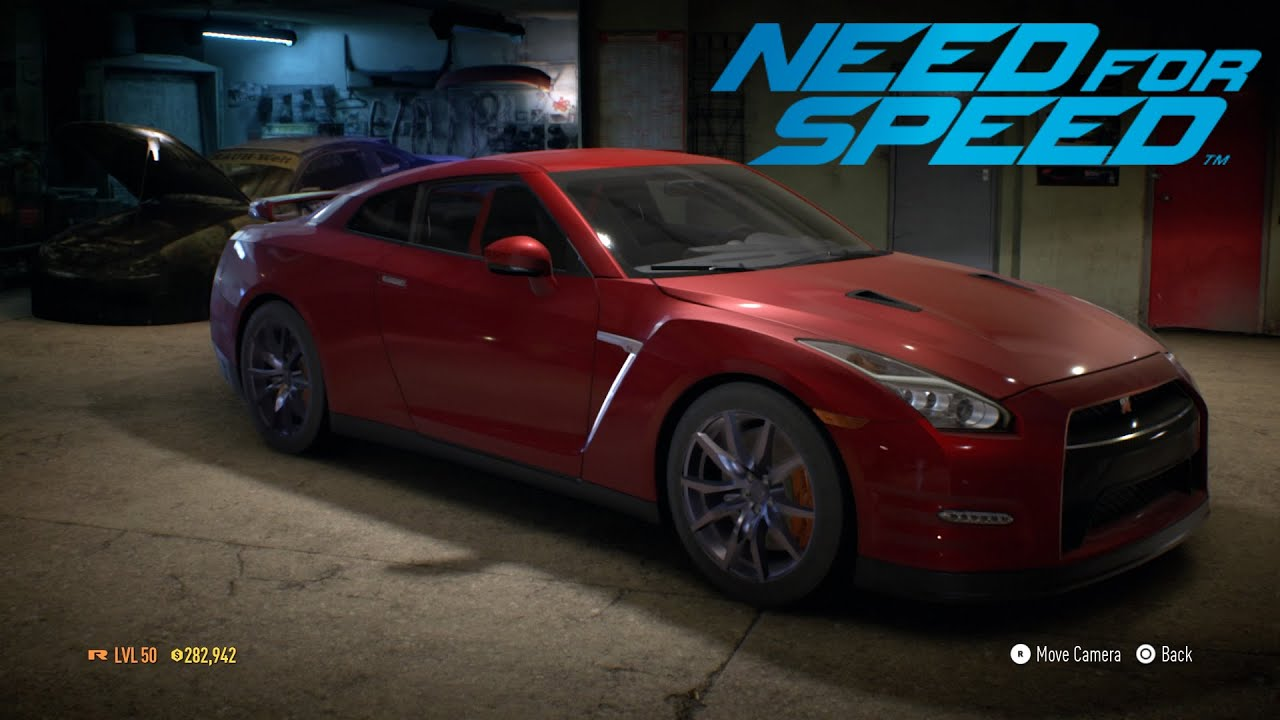 need for speed nissan gt-r premium (2015) stock - youtube