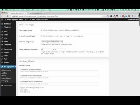 How to Import RSS Feeds into WordPress Posts