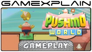 Pushmo World: First 5 Puzzles Gameplay (Wii U)