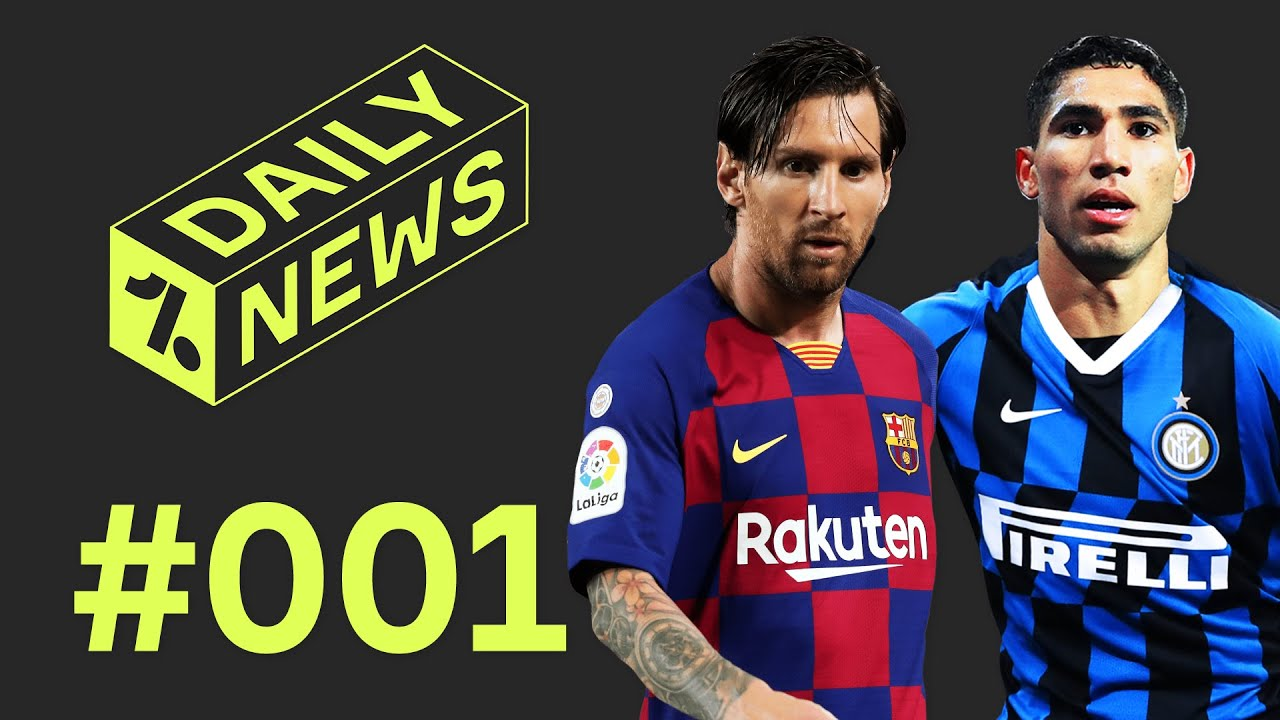 Barcelona in CRISIS? + Inter's Hakimi offer! ► Daily News