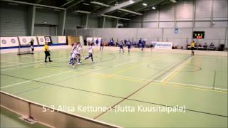 Maalikooste LeBa-96 C-tytöt Vierumäki 14.12.2014