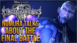 Kingdom Hearts 3 - Nomura Talks About The Final Battle, No Skippable Worlds, Toy Story History