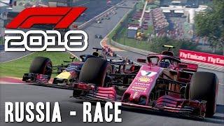 F1 2018 Online w/ Beef & Cone [28] Russia Race