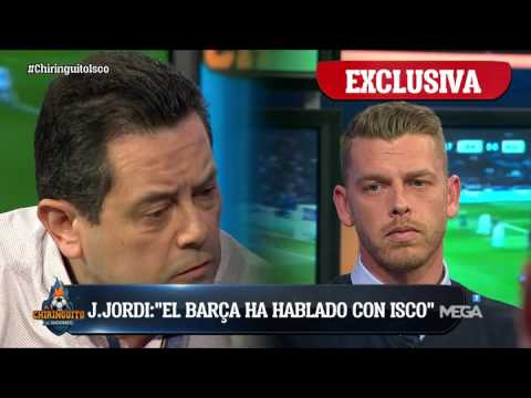 """Roncero: """"Si Isco se quiere ir al Barça que no juegue ni un día más. Es alta traición"""""""