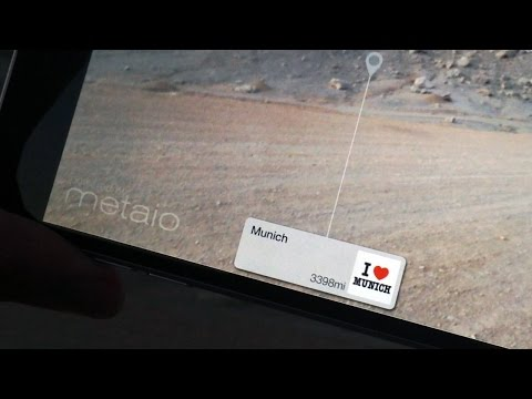 location based Augmented reality in Adobe Air app