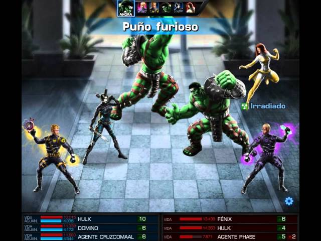 Marvel Avengers Alliance / Mostrando a DOMINO Videos De Viajes