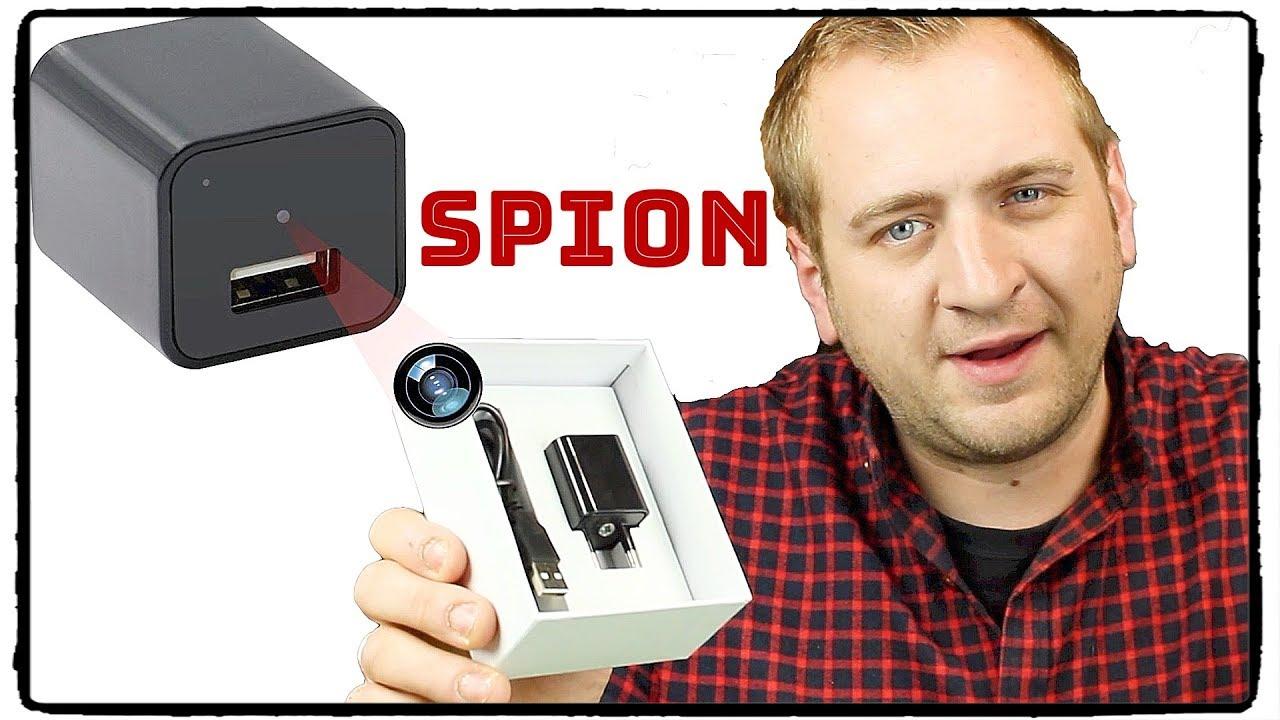 spion kamera versteckte berwachung per ladekabel test. Black Bedroom Furniture Sets. Home Design Ideas