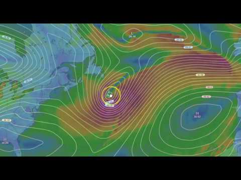 Weather with J7409 Jan 19 and 20 2018