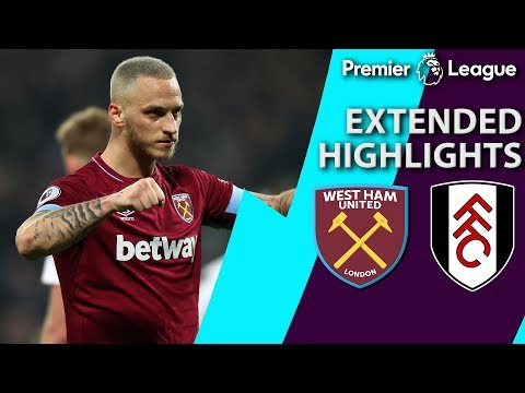 West Ham v. Fulham | PREMIER LEAGUE EXTENDED HIGHLIGHTS | 2/22/19 | NBC Sports