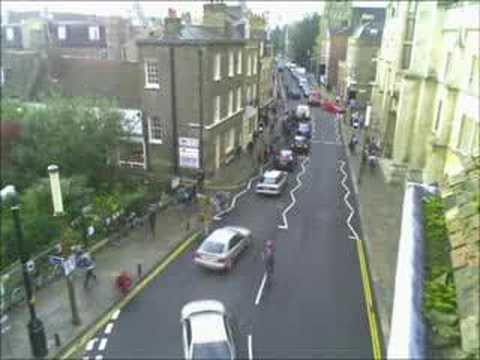 Student Rush Hour - Cambridge, UK - 8h58am