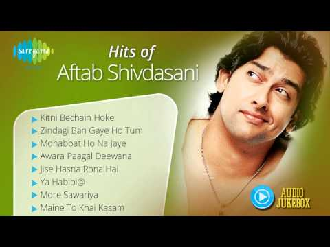 Hits of Aftab Shivdasani  Bollywood Best songs  Kitni Bechain Hoke