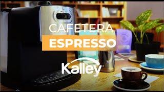 Cafetera Espresso #Kalley prepara espresso, Latte y Cappuccino ¡Conocela!