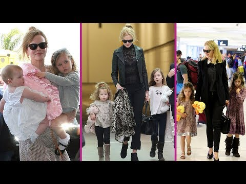 Nicole Kidman's Daughters 'Sunday Rose & Faith Margaret' 2017