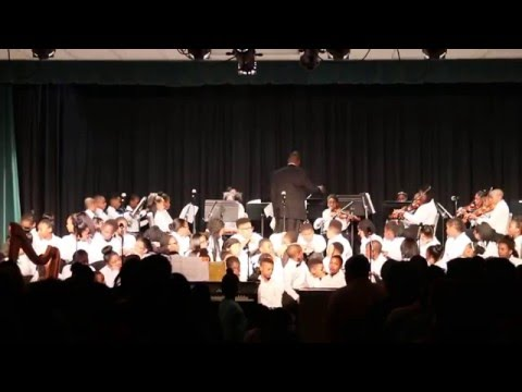 Concert at wadsworth magnet school for high achievers - String