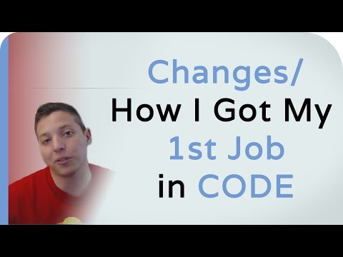 How I Got My First Job in Web Development
