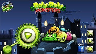 - МОНСТРЫ игра в стиле ЭНГРИ БЕРДС ROLY POLY MONSTERS game kids