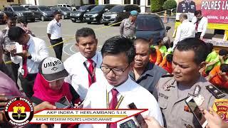 Operasi Sikat, Polres Lhokseumawe Bekuk 16 Pelaku Curanmor