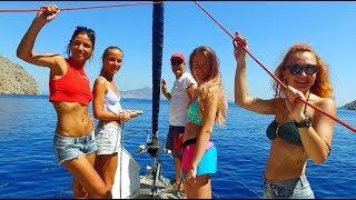 """Обучение яхтингу девушек в яхтенной школе ЯХТ ДРИМ. Трейлер к фильму """"Она и Море"""""""