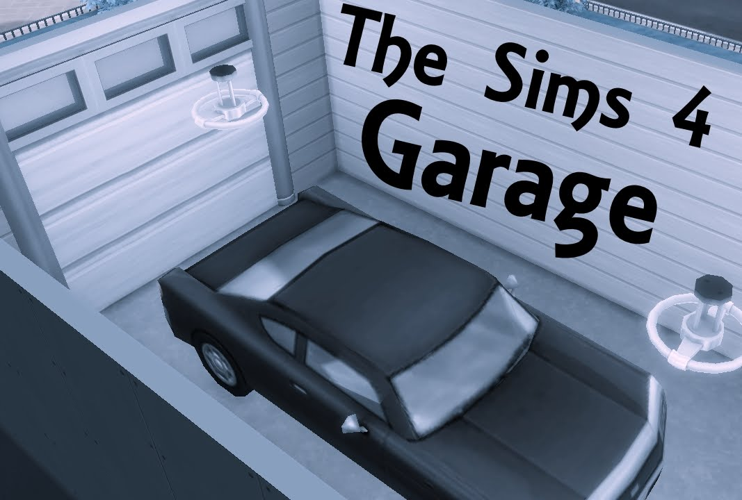 The Sims 4 How To Make Garages Youtube