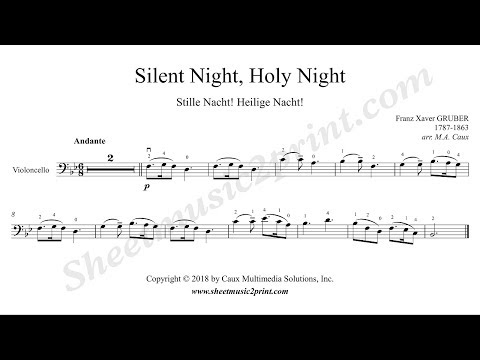 Silent Night - Cello