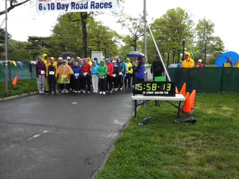 The Fruitarian starts a 6 Day Race, Sri Chimmnoy