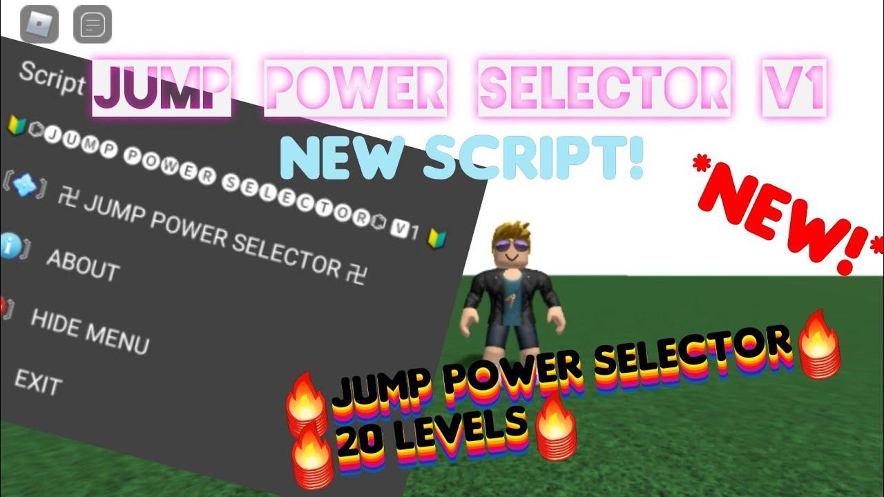 Roblox New Jump Power Selector Script Roblox Exploit Mobile