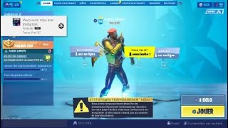 Jai buy the major lazer pack on FORTNITE season X too stylus