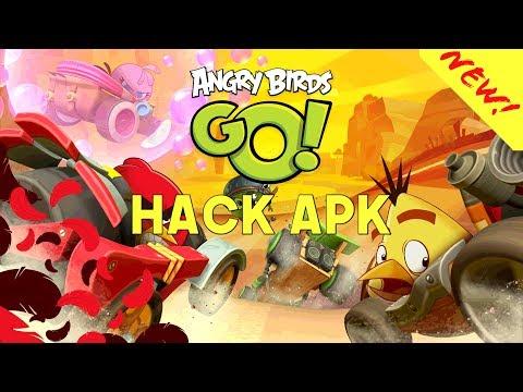 angry birds go hack apk 2018