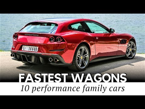 Top 10 Fastest Wagons and Shooting Brakes That Can Outrun Your Sports Car