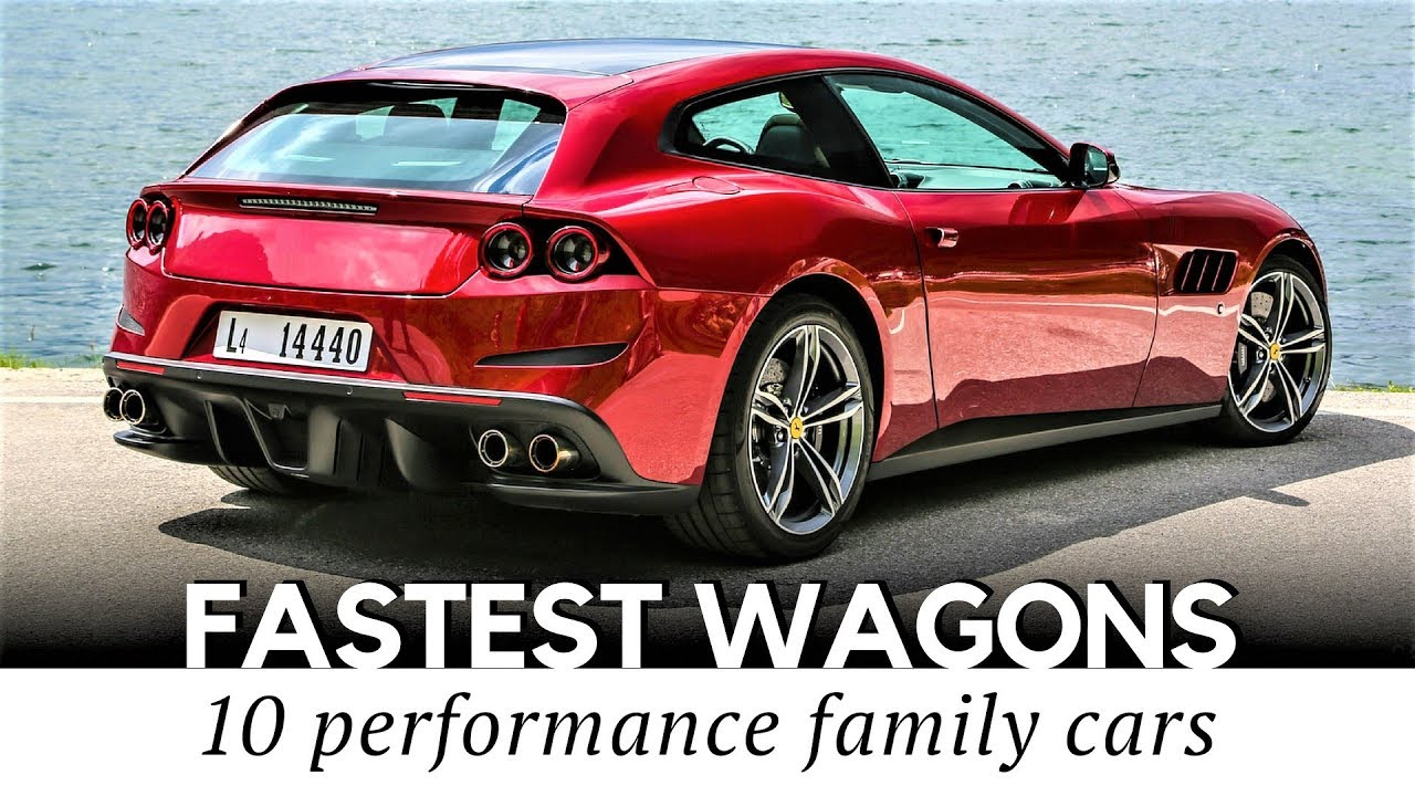 Top 10 Fastest Wagons And Shooting Brakes That Can Outrun Your
