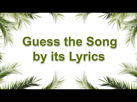 Guess the Song by its Lyrics - Bollywood Song Challenge