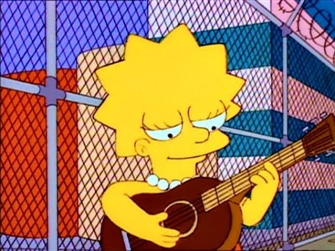 Lisa Simpson - Union Strike folk Song LONG VERSION Protest song
