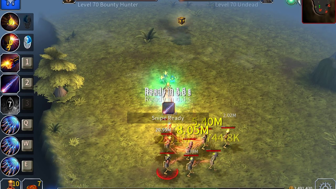 Eternium: Mage and Minions - Bounty Hunter on Trial Level 117