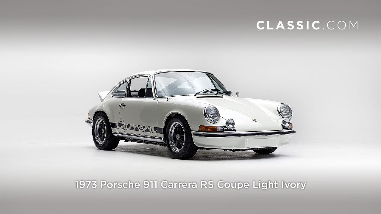 1973 porsche 911 carrera rs coupe light ivory youtube vanachro Choice Image