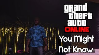 Grand Theft Auto 5 - 9 Things You Might Not Know About After Hours!