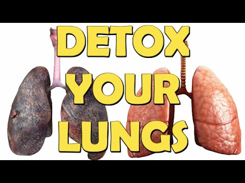 How To Detox Smokers Lungs Naturally l 5 Steps To Cleanse your lungs after smoking