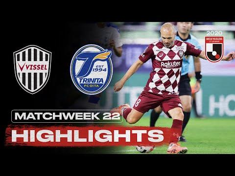 Vissel Kobe 1-1 Oita Trinita | Matchweek 22 | 2020 | J1 League