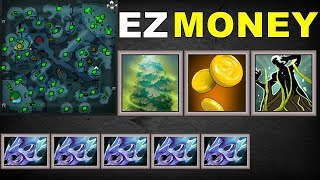 Greevil's Greed + Overgrowth = EZ Money [ Eyes In The Forest ] | Dota 2 Ability Draft