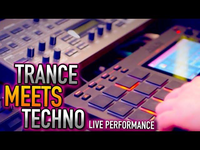 Akai MPC Live - Inner Rush - Melodic Techno Progressive House meets Trance