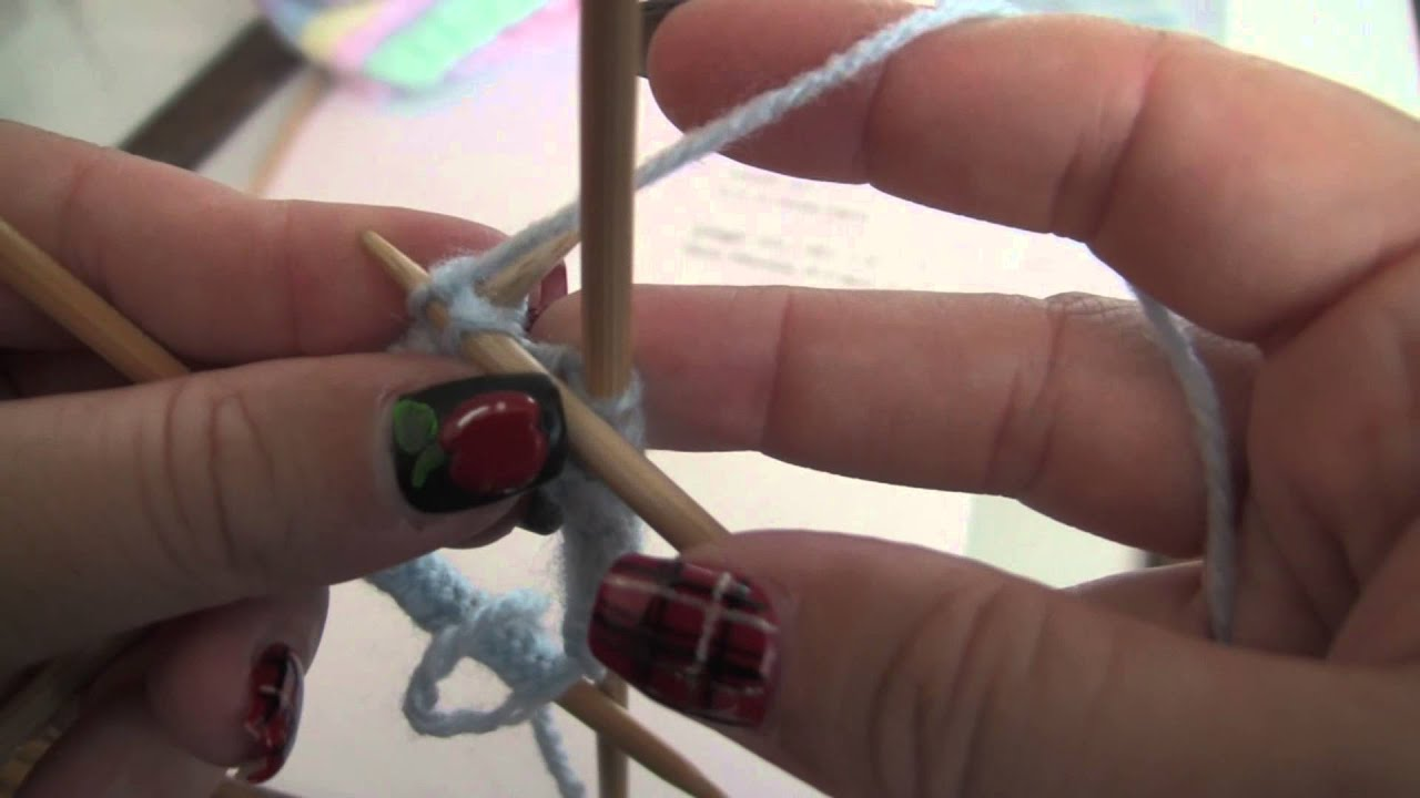 Working On DPNs Right Handed, and Complimentary Baby Hat Pattern ...